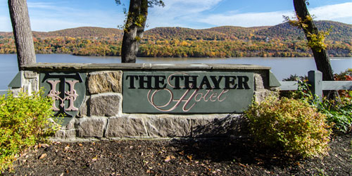 thayer hotel sign